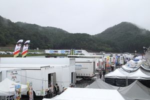 天候が心配される岡山国際サーキット