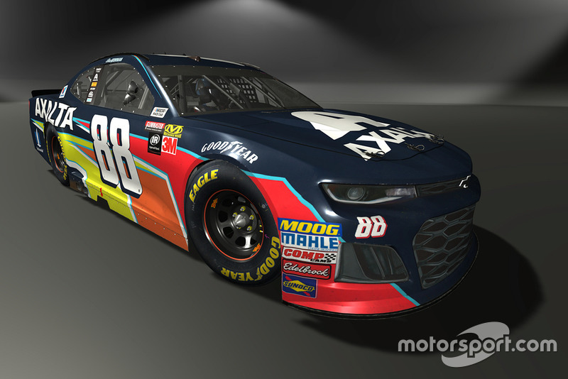 Alex Bowman, Hendrick Motorsports, Chevrolet Camaro - NASCAR Heat 3 skin