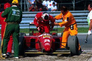Gerhard Berger, Ferrari, abandonne