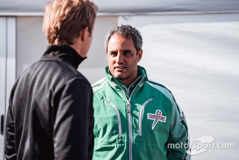 Nico Rosberg y Juan Pablo Montoya