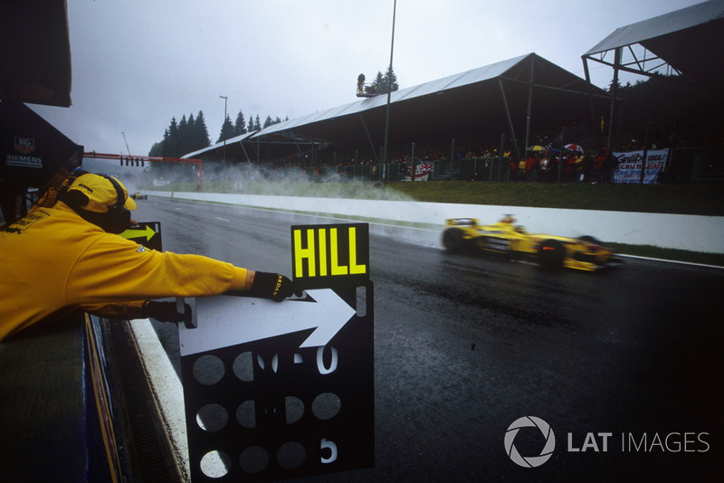 Damon Hill, Jordan 198
