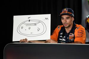 Miguel Oliveira, Red Bull KTM Ajo with his ideal track