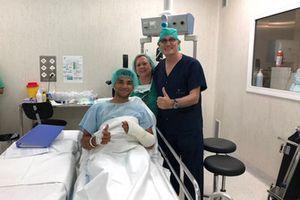 Jorge Martin, Del Conca Gresini Racing Moto3 in the hospital