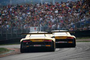 #12 EFP by TECE Audi R8 LMS: Florian Spengler, Dries Vanthoor, #11 EFP by TECE Audi R8 LMS: Elia Erhart, Pierre Kaffer