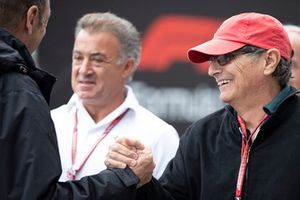 Nelson Piquet, father of Pedro Piquet, Trident with Jean Alesi