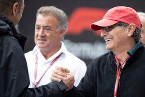 Nelson Piquet, père de Pedro Piquet, Trident avec Jean Alesi