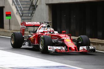 Charles Leclerc, pilote d'essais et de développement, Ferrari SF16-H