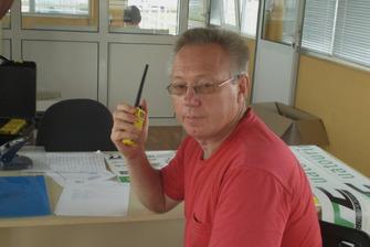 Начальник безпеки Олександр Кулаков - в ЦУГі та на зв'язку