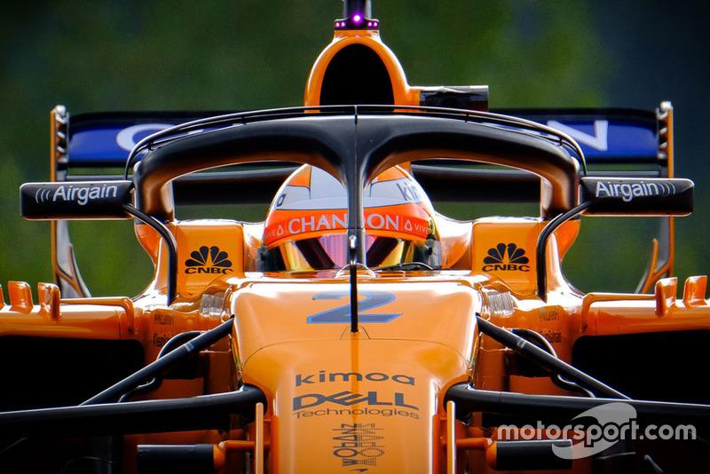20. Стоффель Вандорн, McLaren MCL33 – штраф за замену силовой установки