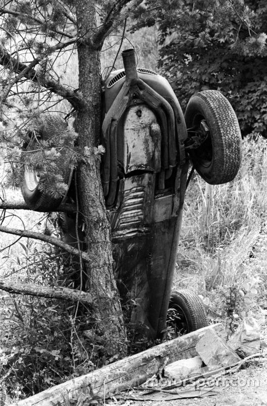 Carel Godin de Beaufort, Porsche 718, crash