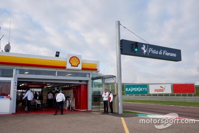 Formula 1 Sauber Testi