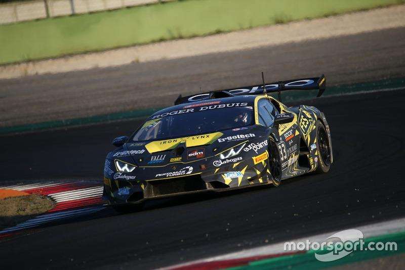 Lamborghini Huracan Super Trofeo Evo #33, Iron Lynx: Francesca Linossi, Stefano Colombo