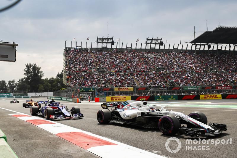 Сергій Сироткін, Williams FW41, П'єр Гаслі, Toro Rosso STR13