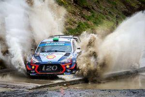 Hayden Paddon, Sebastian Marshall, Hyundai Motorsport Hyundai i20 Coupe WRC Fabien Dufour