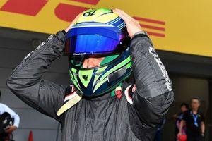 Felipe Massa lors du tour de démonstration des Légendes