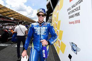 Il secondo classificato Alex Rins, Team Suzuki MotoGP