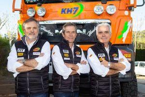Xavi Domènech, Jordi Juvanteny, José Luis Criado, KH-7 Epsilon Team