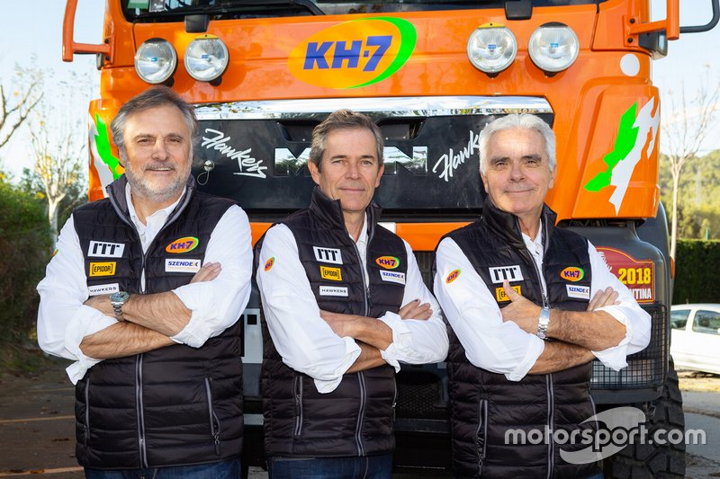 #523 Xavi Domènech, Jordi Juvanteny, José Luis Criado, KH-7 Epsilon Team