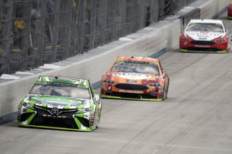 Kyle Busch, Joe Gibbs Racing, Toyota Camry Interstate Batteries, Kevin Harvick, Stewart-Haas Racing, Ford Fusion Busch Outdoors