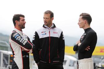 Mike Conway, Jose Maria Lopez, Alexander Wurz, Toyota Gazoo Racing