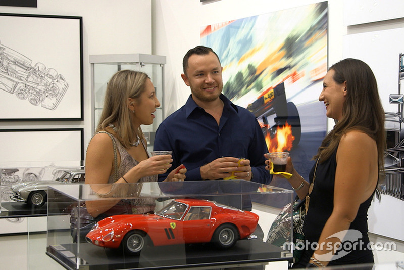Motorsport Gallery Exhibition at William Braemer Gallery, Miami