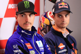 Maverick Vinales, Yamaha Factory Racing, Dani Pedrosa, Repsol Honda Team