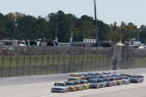 Spencer Gallagher, GMS Racing, Chevrolet Silverado Allegiant Grant Enfinger, ThorSport Racing, Ford F-150 Champion Power Equipment/Curb Records David Gilliland, Kyle Busch Motorsports, Toyota Tundra Pedigree