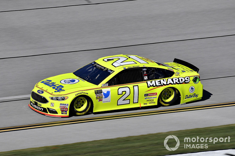 30. Paul Menard, Wood Brothers Racing, Ford Fusion Menards / Dutch Boy