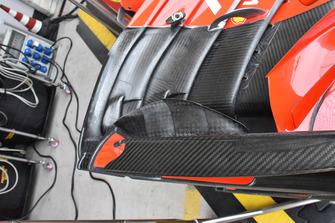 Ferrari SF71H detalle del alerón delantero
