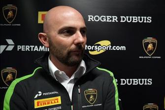 Giorgio Sanna, Head of Motorsport Lamborghini