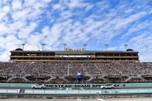 Pace-Cars auf dem Homestead-Miami Speedway