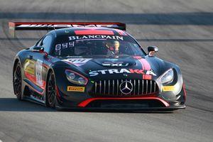 #44 Strakka Racing Mercedes-AMG GT3: Felipe Fraga, Oliver Rowland, Christian Vietoris