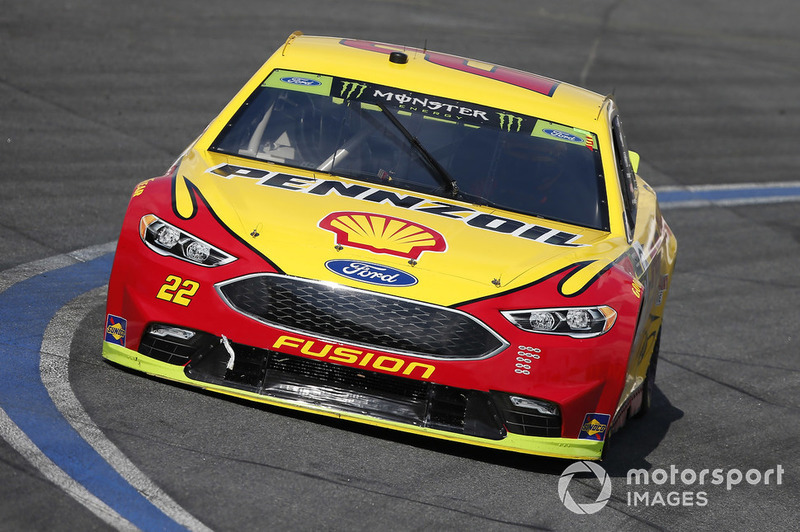 15. Joey Logano, Team Penske, Ford Fusion Shell Pennzoil