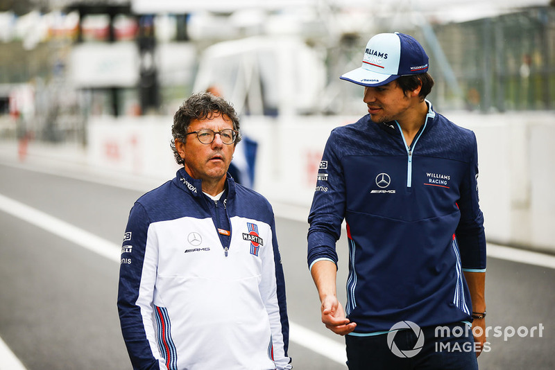 Luca Baldisserri, ingeniero de Williams F1, Lance Stroll, Williams Racing