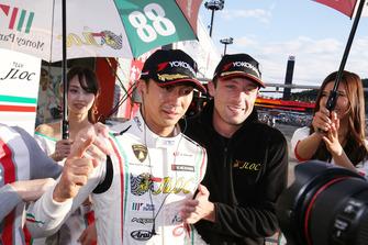 GT300 pole sitter: #88 JLOC Lamborghini Huracan GT3: Marco Mapelli, Kazuki Hiramine
