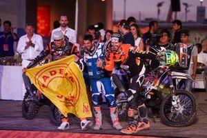 Podium: Nomade Racing: Benjamin Melot