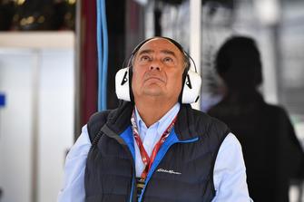 Antonio Perez Garibay, vader van Sergio Perez, Racing Point Force India