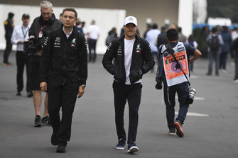 Valtteri Bottas, Mercedes AMG F1 and Antti Vierula, trainer