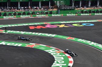 Lewis Hamilton, Mercedes-AMG F1 W09 EQ Power+ and Valtteri Bottas, Mercedes-AMG F1 W09 EQ Power+