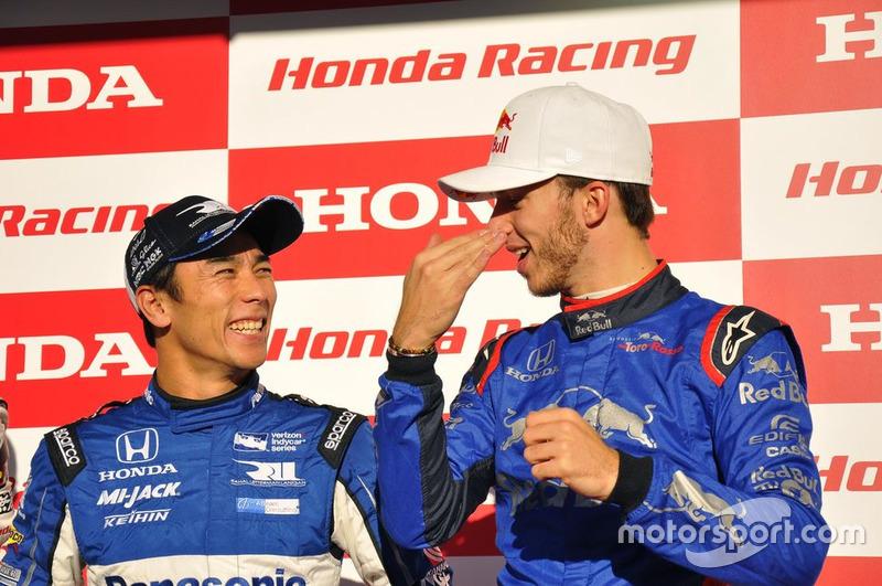 Takuma Sato dan Pierre Gasly
