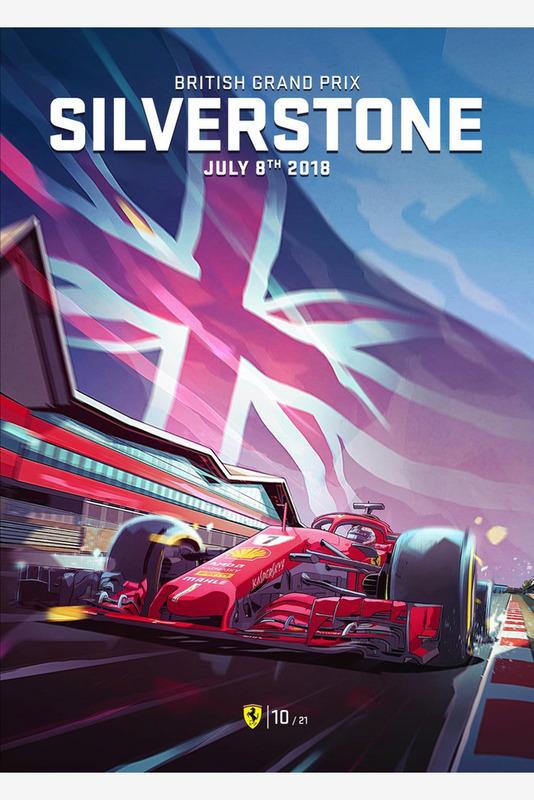 Постер Гран При Великобритании
