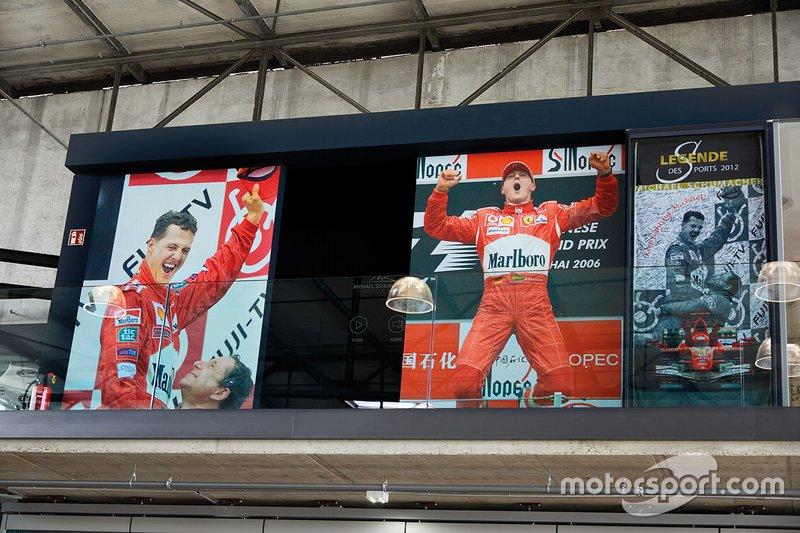 Michael Schumacher museum entrance