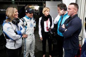 Felipe Massa, Venturi Formula E, Susie Wolff, Team Principal, Venturi Formula E, Alejandro Agag, CEO, Formula E, footballer Wayne Rooney