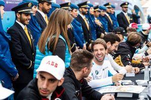 Antonio Felix da Costa, BMW I Andretti Motorsports lors de la séance d'autographes