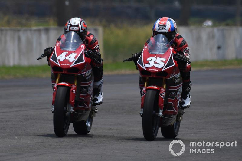 Muklada Sarapuech dan Kritchaporn Kaewsonthi, AP Honda Racing Thailand