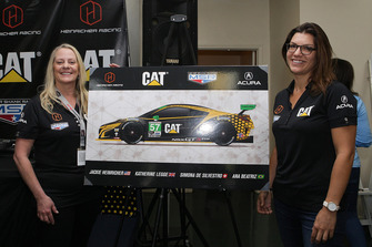 Katherine Legge, Michael Shank and Jackie Heniricher announce an all-female lineup in the #57 Acura NSX at the 2019 Rolex 24 Hours at Daytona