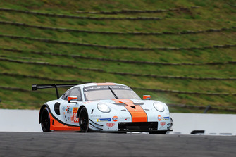 #86 Gulf Racing Porsche 911 RSR: Michael Wainwright, Thomas Preining, Ben Barker