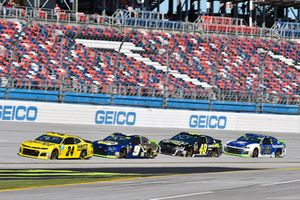 William Byron, Hendrick Motorsports, Chevrolet Camaro Hertz, Chase Elliott, Hendrick Motorsports, Chevrolet Camaro NAPA NIGHTVISION LAMPS, Jimmie Johnson, Hendrick Motorsports, Chevrolet Camaro Lowe's for Pros and Alex Bowman, Hendrick Motorsports, Chevrolet Camaro Nationwide