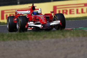 Felipe Massa, Ferrari, giro dimostrativo al Legends F1 30esimo Anniversario