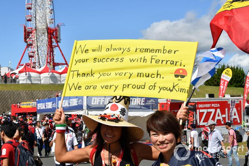 Tifosi di Kimi Raikkonen, Ferrari